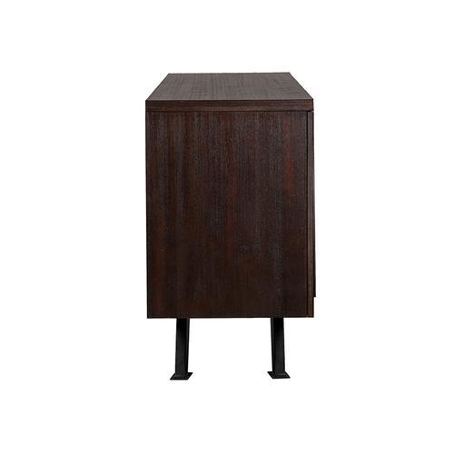 Armen Living - Pirate Brown Acacia Sideboard Cabinet