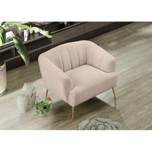 "Tori Velvet Chair - 39"" W x 31.75"" D x 30"" H"