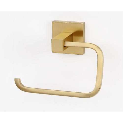 Contemporary II Single Post Tissue Holder A8466 - Satin Brass