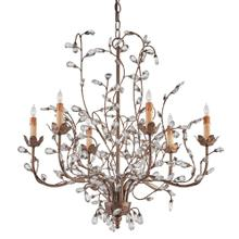View Product - Crystal Bud Cupertino Medium Chandelier
