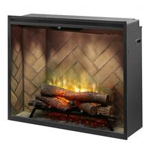 "Revillusion 36"" Portrait Built-in Firebox"