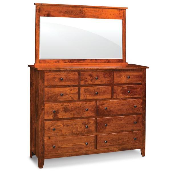 See Details - Shenandoah 12-Drawer Bureau, 58'w x 18 'd x 46 'h