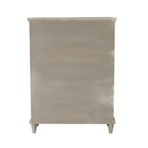 Pulaski Furniture - Campbell Street 5 Drawer Chest in Vanilla Cream