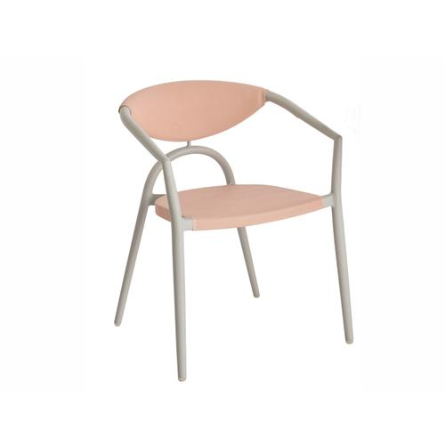 Riba Aluminum Stackable Sling Bistro Arm Chair