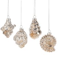 Shell Ornaments (4 asstd)