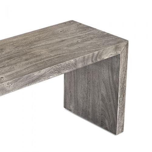Aspen Grand Bench - Rustic Grey