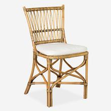 Boda Rattan Side Chair - Honey (MOQ: 2) (package: 2pcs/box) price is per piece