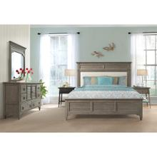 Myra - King/california King Upholstered Headboard - Natural Finish