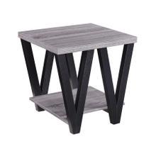 Mid-century Modern Black Side Table