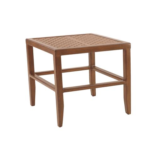 """Castelle - 23.5"""" Transitional Square Side Table"""