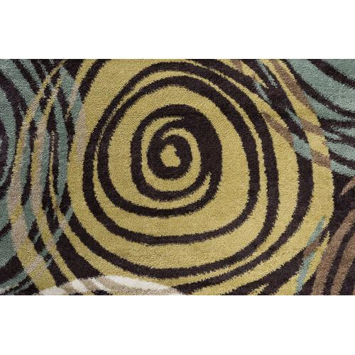 Tayse Rugs - Deco - DCO1015 Brown Rug (Multiple sizes available)