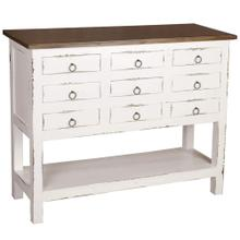 View Product - Cabinet - White and Raftwood