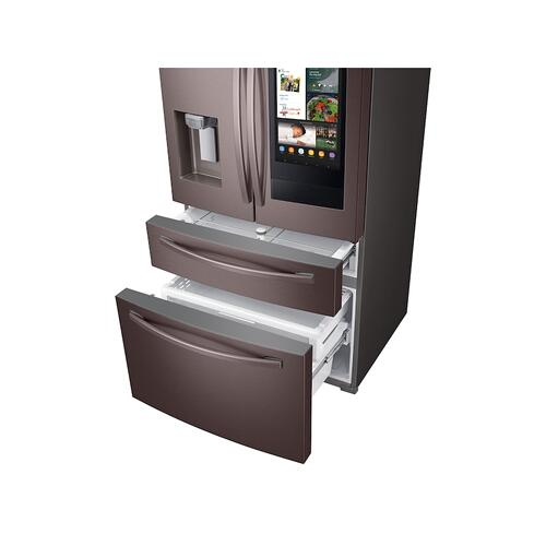 28 cu. ft. 4-Door French Door Refrigerator with Touch Screen Family Hub™ in Tuscan Stainless Steel