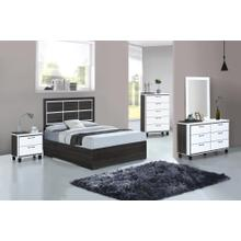 4PC QUEEN BEDROOM SET(Q/D/M/N)