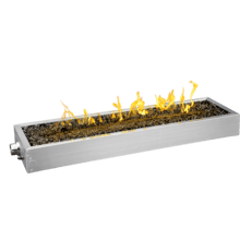 "48"" Linear Patioflame Burner Kit , Stainless Steel , Propane"