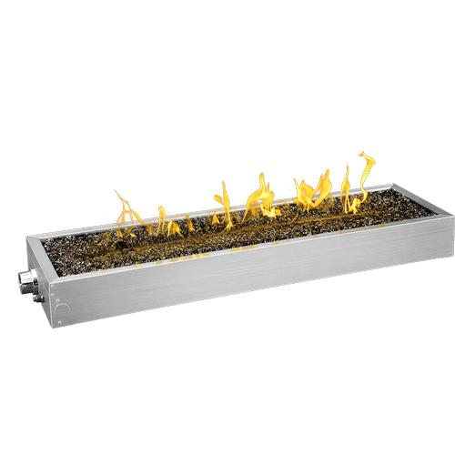 "48"" Linear Patioflame Burner Kit , Stainless Steel , Propane"