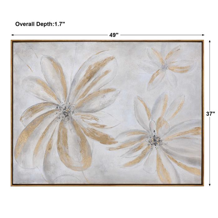 Uttermost - Daisy Stars Hand Painted Canvas
