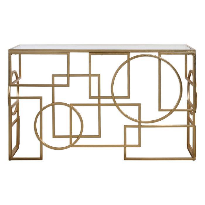 Uttermost - Metria Console Table