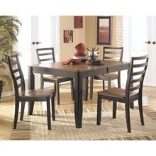 Dining Room Side Chair (2/CN) Alonzo - Two-tone Brown Collection Ashley at Aztec Distribution Center Houston Texas