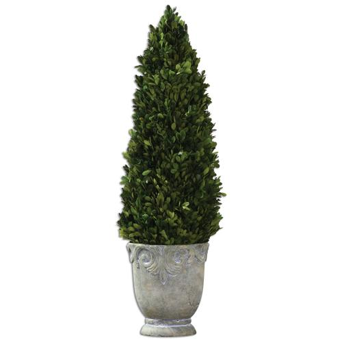 Uttermost - Preserved Boxwood Cone Topiary