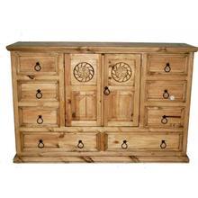 See Details - Mansion Dresser W/ Rope Star