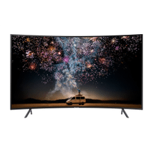 "65"" RU7300 Curved Smart 4K UHD TV"