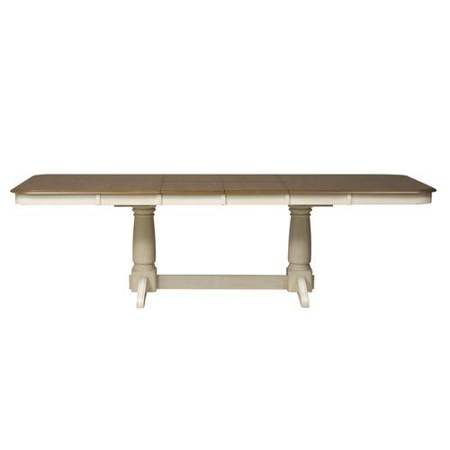 Double Pedestal Table Top