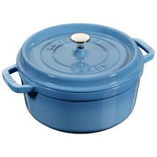 Staub La Cocotte 5.5-qt round Cocotte, Ice-Blue
