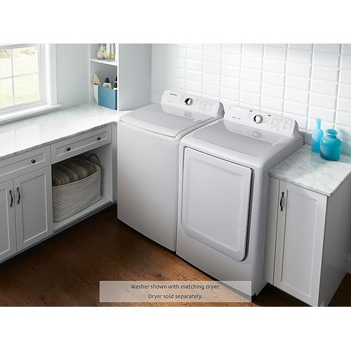 Samsung - WA3000 4.0 cu. ft. Top Load Washer with Self Clean
