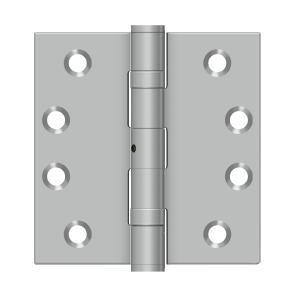 "4""x 4"" Square Hinge - Brushed Stainless"