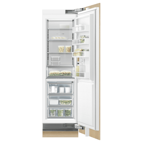 """Fisher & Paykel - Integrated Column Refrigerator, 24"""", Ice"""