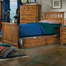 See Details - Twin Panel Bed with trundle