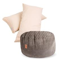 Pillow Pod - Terry Corduroy - Ecru
