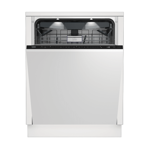 Beko - Tall Tub Dishwasher, 16 place settings, 39 dBa, Fully Integrated Panel Ready