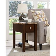 View Product - Ex presso Chair Side End Table