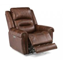 See Details - Jeremiah Fabric Power Recliner with Power Headrest
