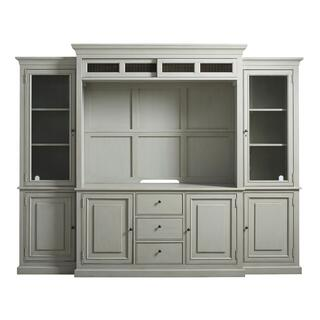 See Details - Entertainment Console with Hutch