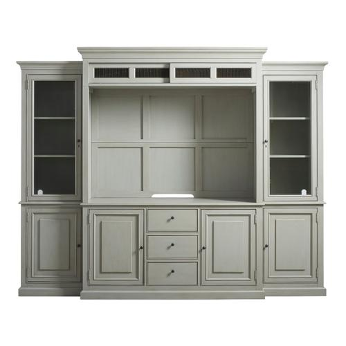 Universal Furniture - Entertainment Console with Hutch