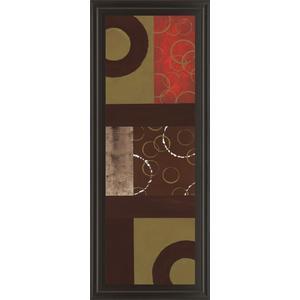 "Classy Art - ""Mix N' Match I"" By Earl Kaminsky Framed Print Wall Art"