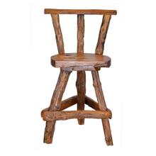 See Details - TF-0794-NA Sawtooth Swivel Bar Chair with no Arms