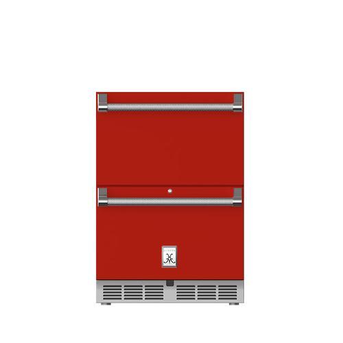 "Hestan - 24"" Hestan Undercounter Refrigerator Drawers - GRR Series - Matador"