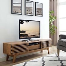 "See Details - Render 59"" TV Stand in Walnut"