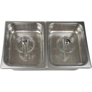 Stainless Steel Steam Cooker Basins