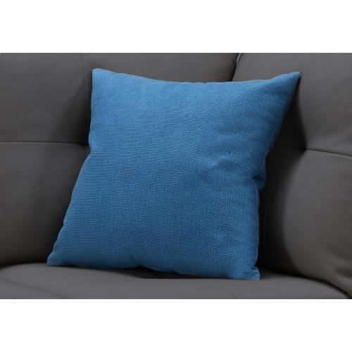 """Gallery - PILLOW - 18""""X 18"""" / PATTERNED BLUE / 1PC"""