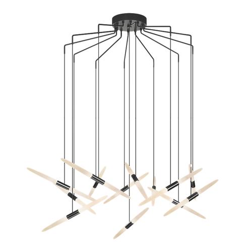 Ballet™ 13-Light Spreader LED Pendant
