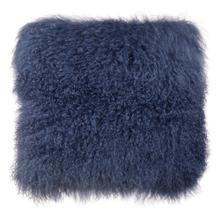 View Product - Tibetan Sheep Large Blue Pillow