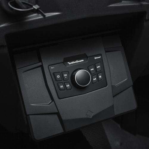 Rockford Fosgate - Polaris RZR dash kit for PMX-0 for 2014-2018