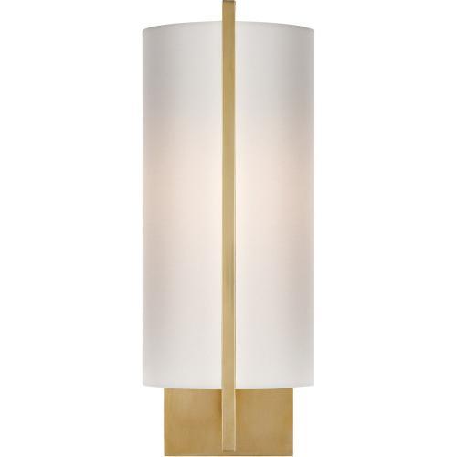 Visual Comfort BBL2110SB-S Barbara Barry Framework 1 Light 5 inch Soft Brass Decorative Wall Light