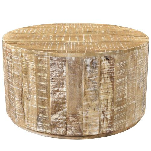 Eva Coffee Table in Distressed Natural