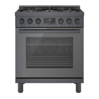 800 Series Gas Freestanding Range 30'' Black stainless steel HGS8045UC